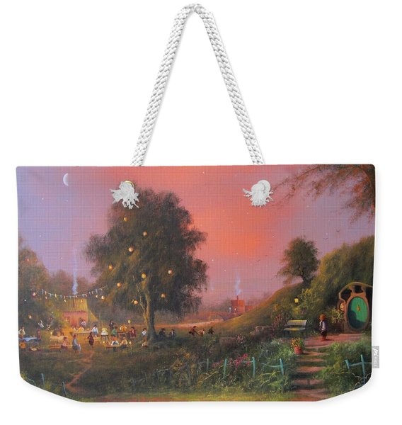Lord Of The Rings Inspired Artwork. From The Magical Realm Weekender Tote Bag
