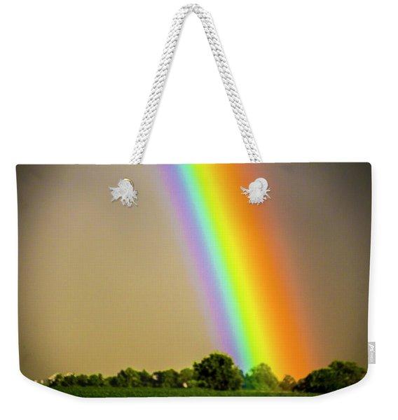 Weekender Tote Bag featuring the photograph A Spectrum Of Nebraska 002 by NebraskaSC