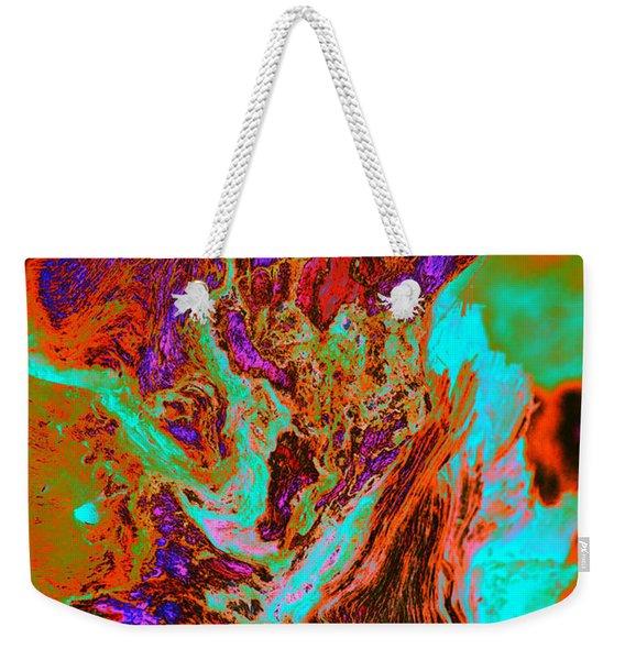 A Splash Of Color In The Weeds Weekender Tote Bag