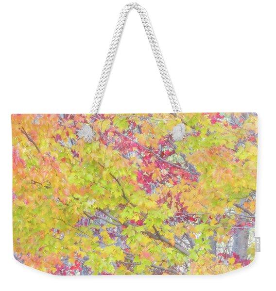 A Splash Of Color Weekender Tote Bag