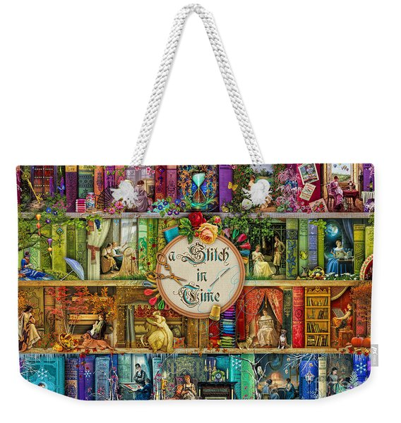 A Stitch In Time Weekender Tote Bag
