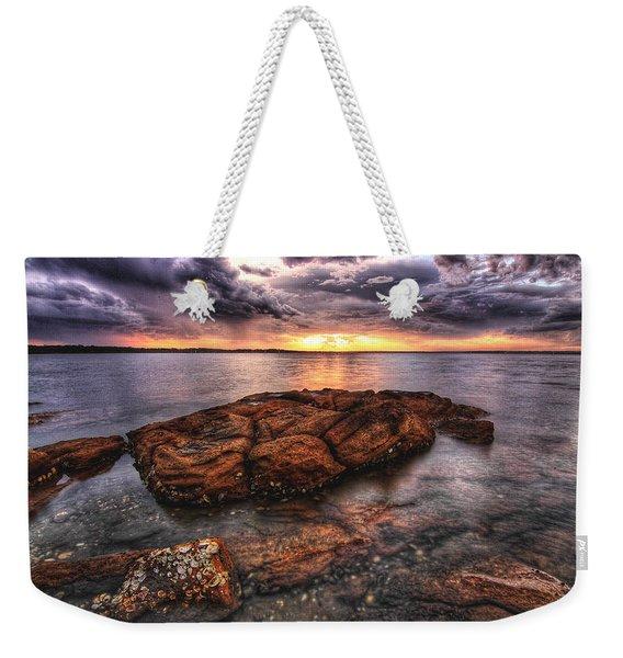 A Storm Is Brewing Weekender Tote Bag