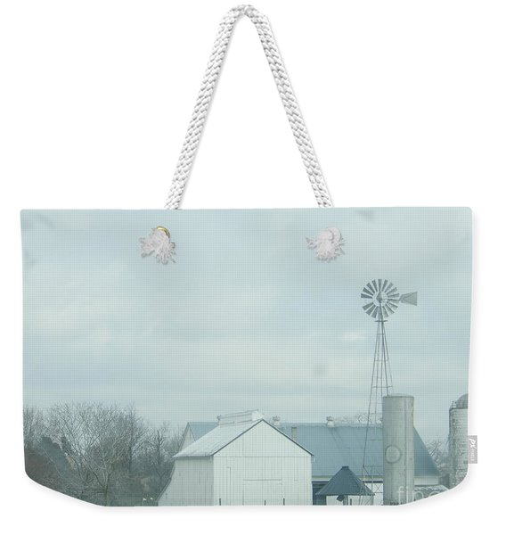 A Storm Moves In Weekender Tote Bag