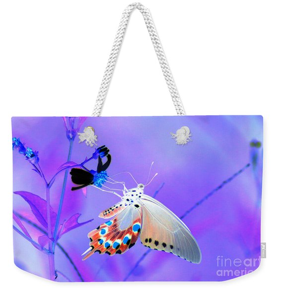 A Strange Butterfly Dream Weekender Tote Bag