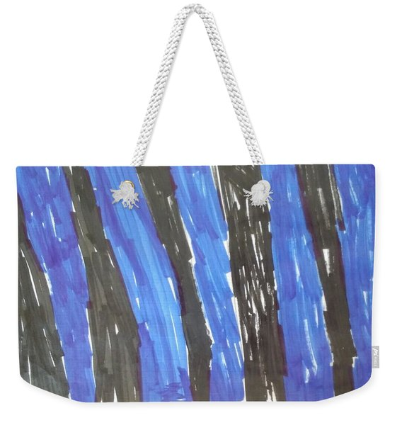 A Strange Picture Weekender Tote Bag