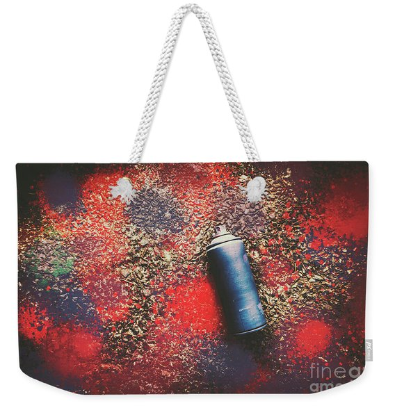 A Street Art Composition Weekender Tote Bag