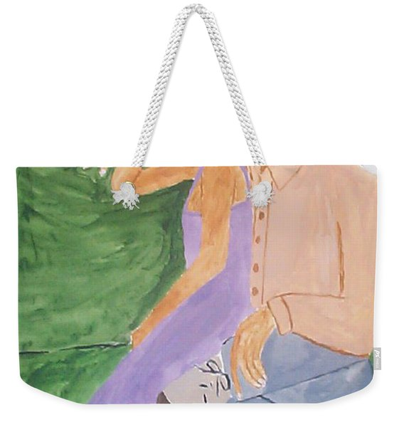 A Sultry Evening Weekender Tote Bag
