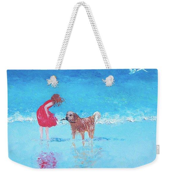 A Summer Breeze Weekender Tote Bag