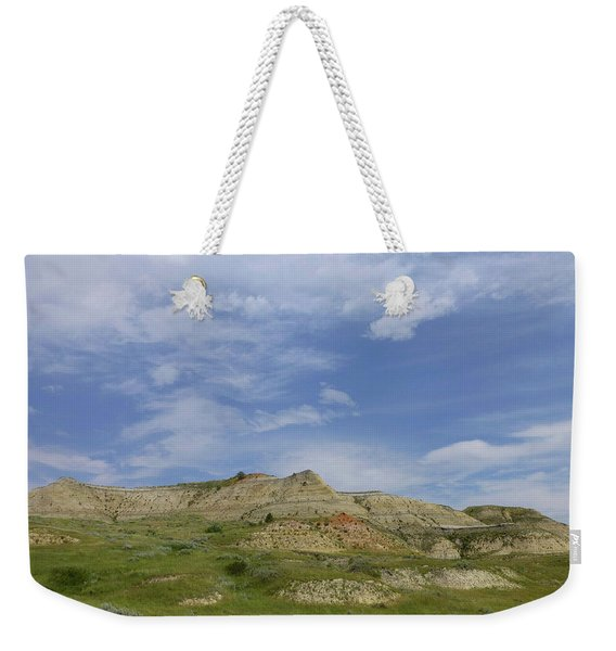 Weekender Tote Bag featuring the photograph A Summer Day In Dakota by Cris Fulton