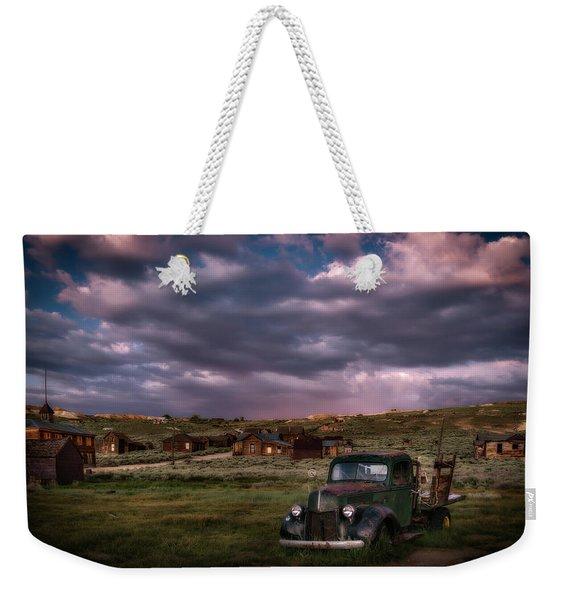 A Summer Evening In Bodie Weekender Tote Bag