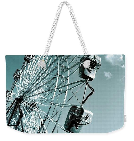 A Summer Ride Weekender Tote Bag