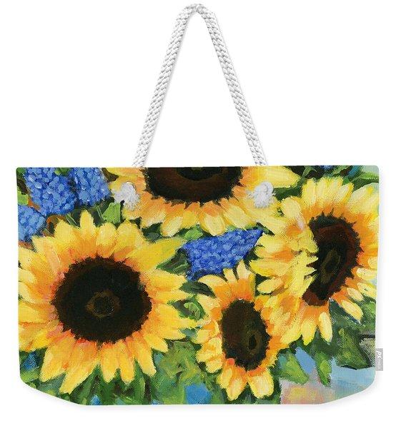 A Sunny Arrangement Weekender Tote Bag