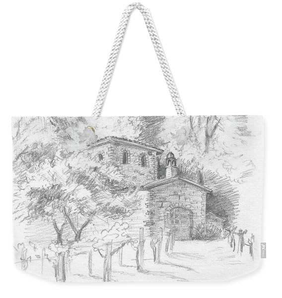 A Sunny Day In The Vineyard Weekender Tote Bag