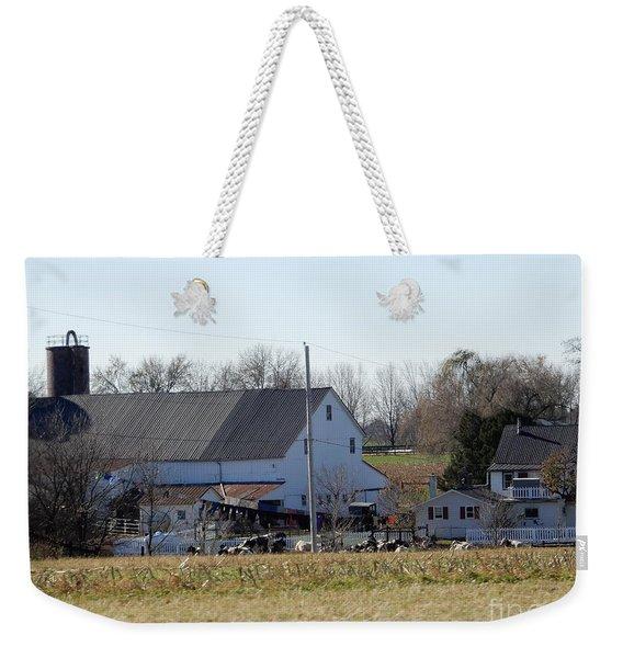 A Sunny November Afternoon Weekender Tote Bag