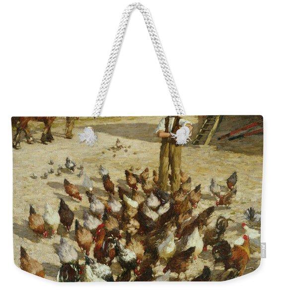 A Sussex Farm Weekender Tote Bag