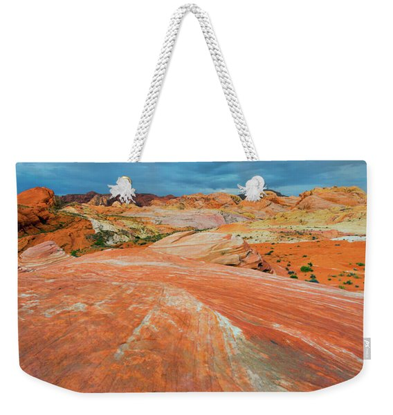 A The End Of The Rainbow Weekender Tote Bag