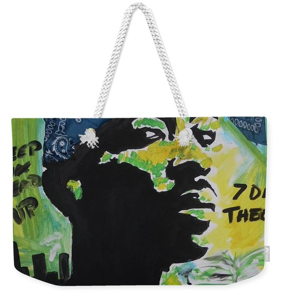 A Thugs Mind Weekender Tote Bag