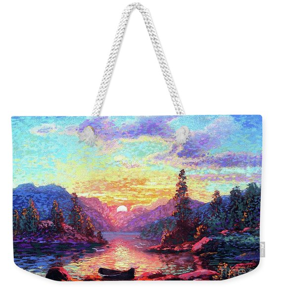 A Time For Peace Weekender Tote Bag