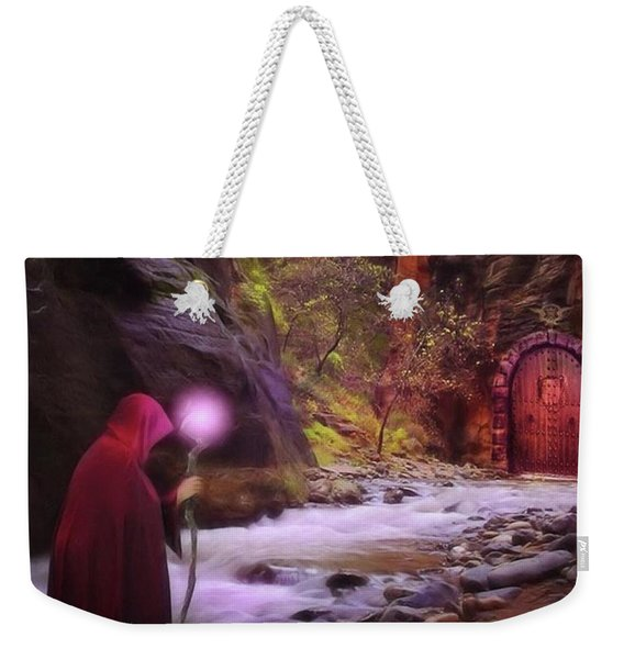 A Touch Of Fantasy - The Road Less Weekender Tote Bag