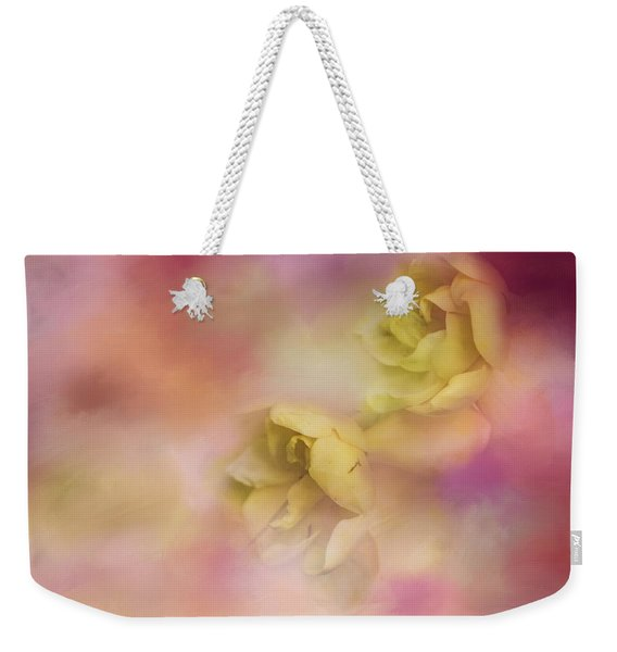 A Touch Of Spring Flower Art Weekender Tote Bag