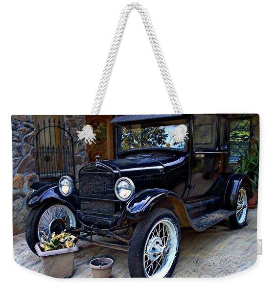 A True Classic Weekender Tote Bag