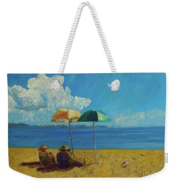 A Vacant Lot - Byron Bay Weekender Tote Bag