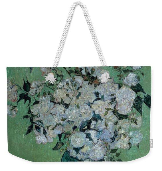 A Vase Of Roses Weekender Tote Bag