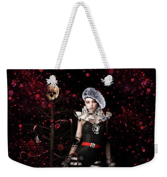 A Very Gothic Xmas Weekender Tote Bag