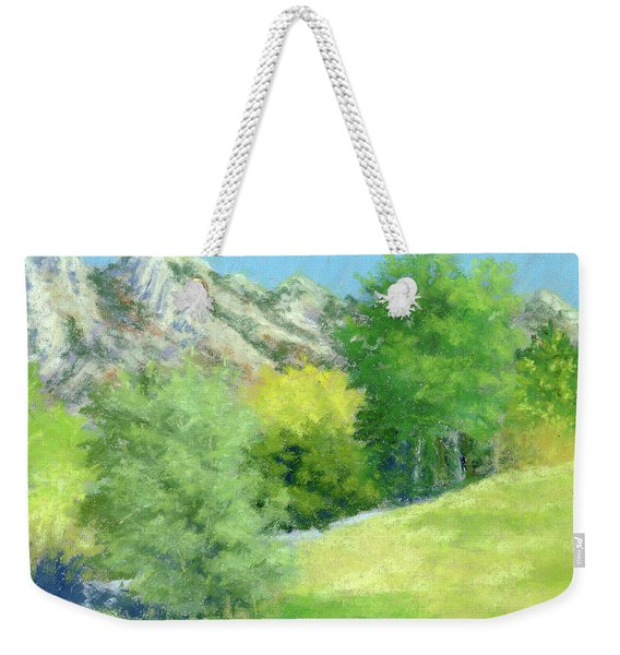 A View From Murray Park Weekender Tote Bag