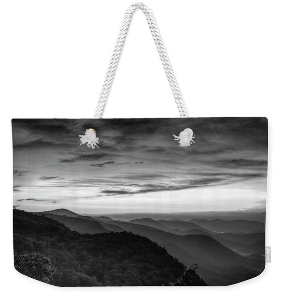 A View From Pretty Place Chapel B W Ymca Camp Greenville South Carolina Art Weekender Tote Bag