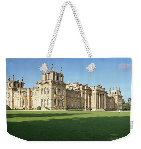 A View Of Blenheim Palace Weekender Tote Bag