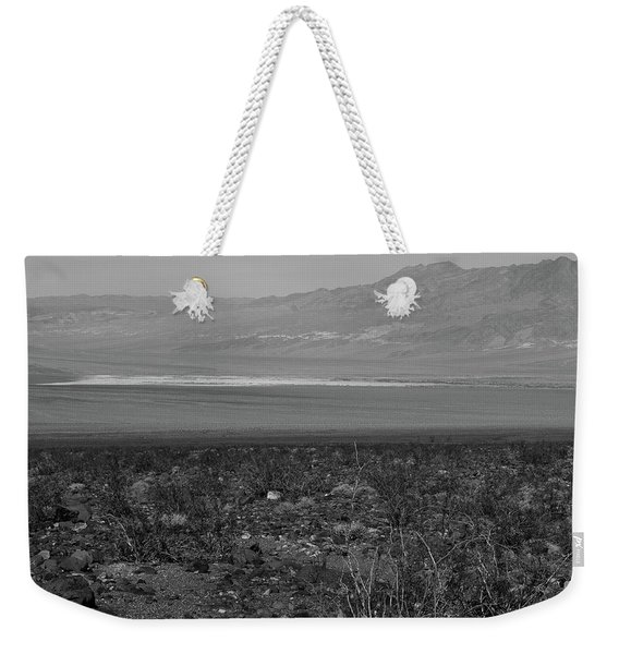 Weekender Tote Bag featuring the photograph A View Of Death Valley by Frank DiMarco