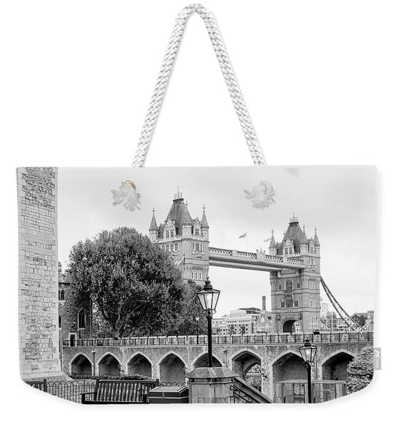 A View Of Tower Bridge Weekender Tote Bag