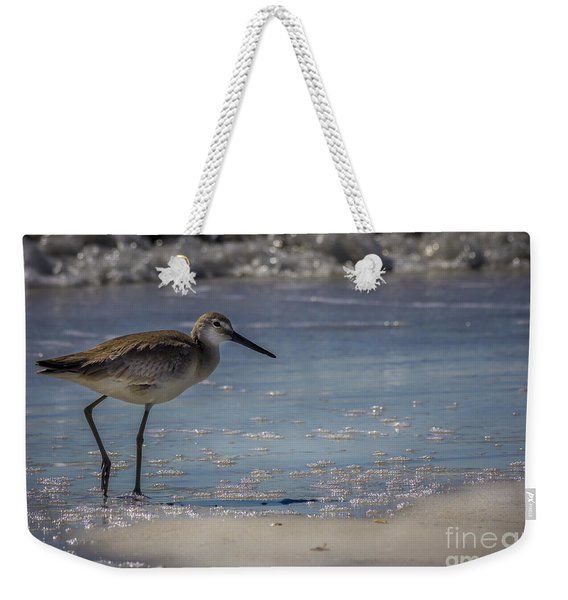 A Walk On The Beach Weekender Tote Bag