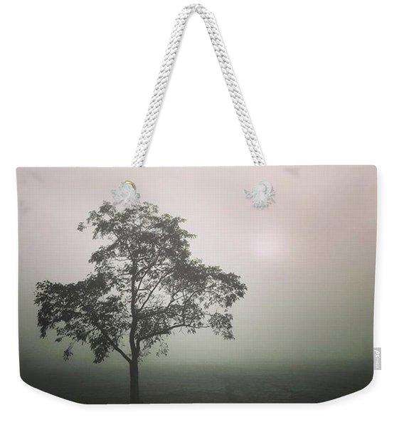 A Walk Through The Clouds #fog #nuneaton Weekender Tote Bag