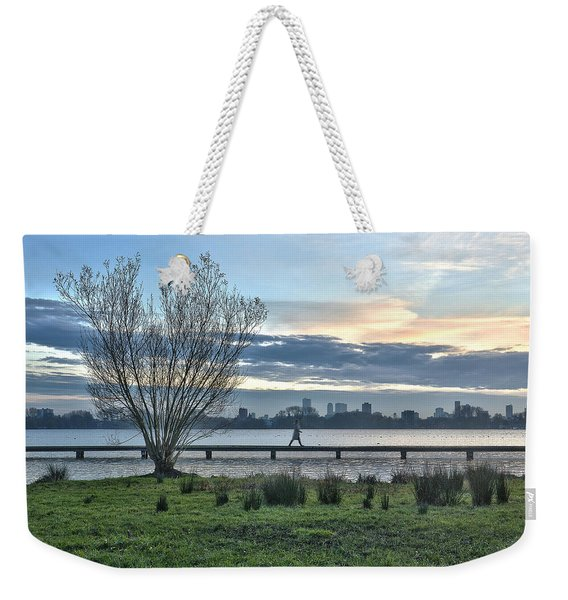 A Walk Through The Lake Weekender Tote Bag
