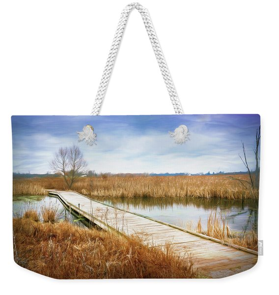 A Warm Day In February Weekender Tote Bag