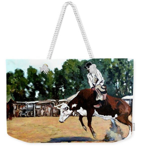 A Whole Lot Of Bull Weekender Tote Bag