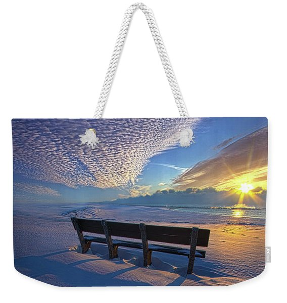 A Whole World In Front Of Us Weekender Tote Bag