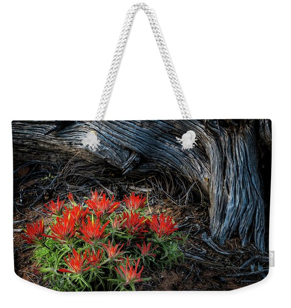 A Wild Bouquet Weekender Tote Bag