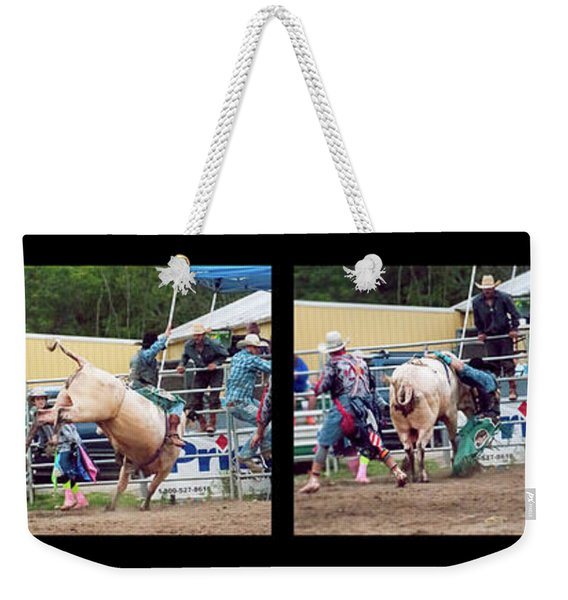 A Wild Ride Montage Weekender Tote Bag