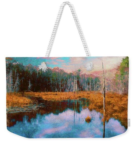 A Wilderness Marsh Weekender Tote Bag