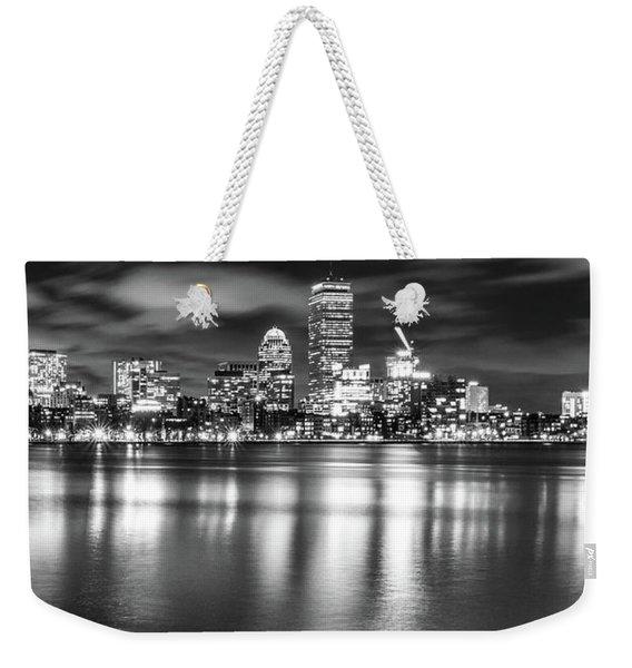 A Windy Night In Boston Weekender Tote Bag