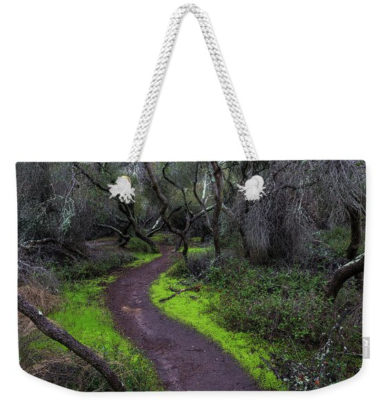 A Windy Path Weekender Tote Bag