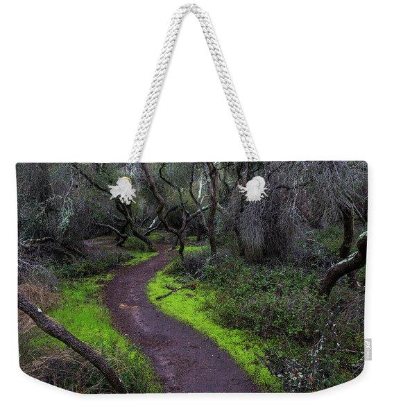 A Windy Path Weekender Tote Bag
