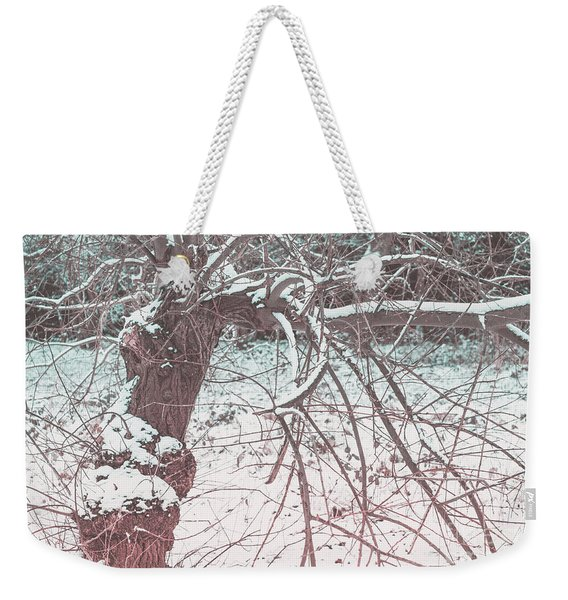 A Winter Tree Weekender Tote Bag