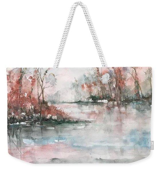 A Winters Dawn Weekender Tote Bag