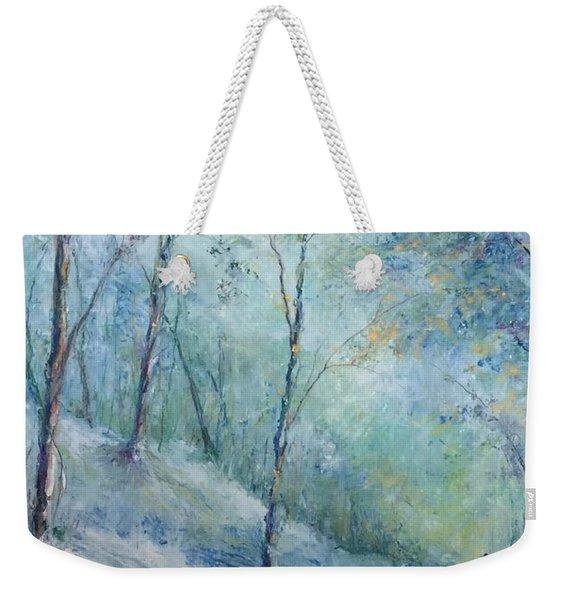 A Winter's Walk Weekender Tote Bag