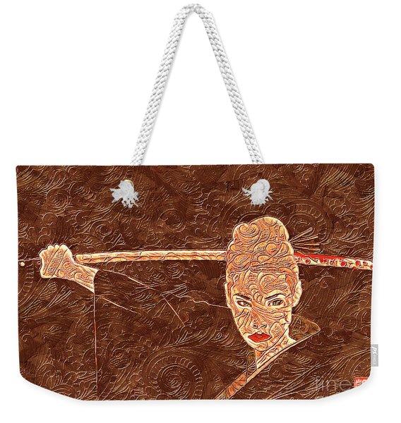 A Woman Scorned Weekender Tote Bag