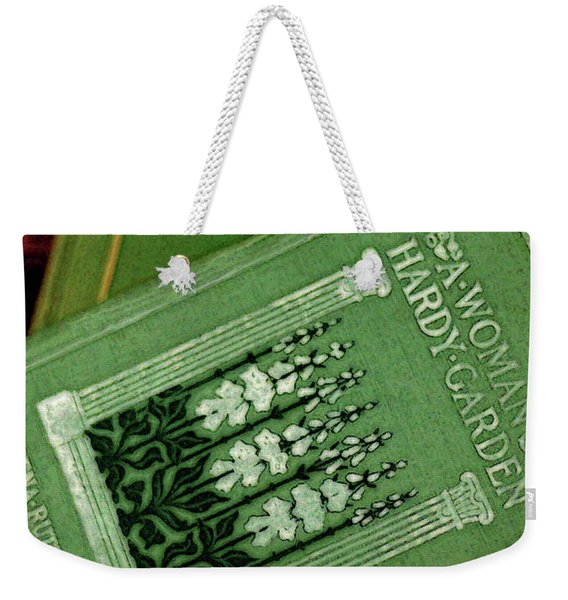 A Woman's Hardy Garden Weekender Tote Bag
